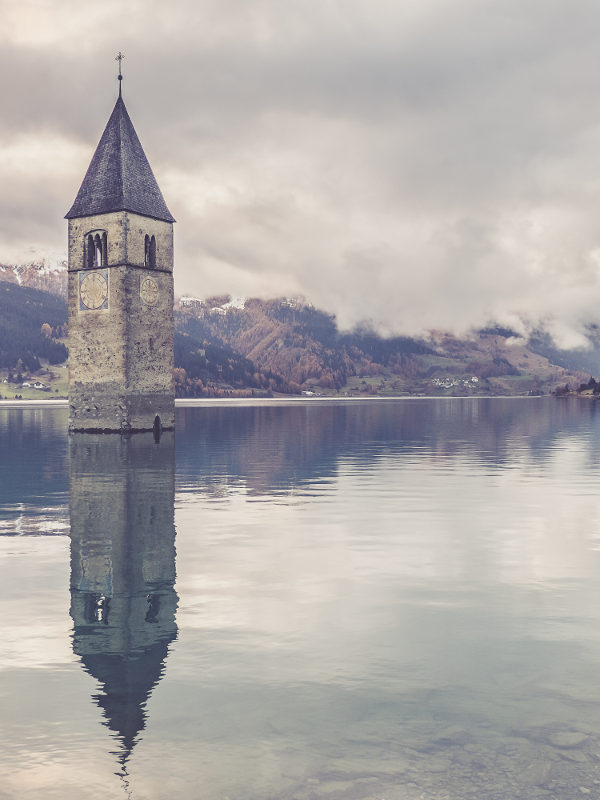 Lago di Resia - Trentino Alto Adige