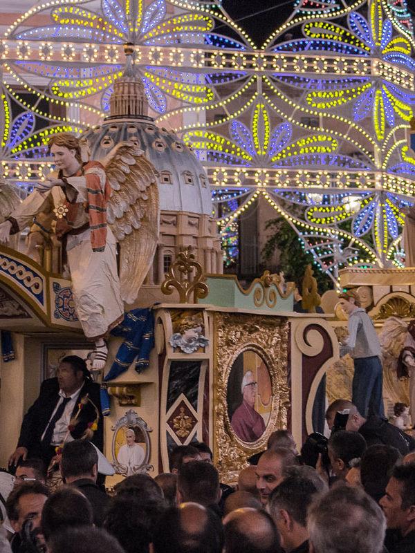 Festa della Bruna - Carro Trionfale