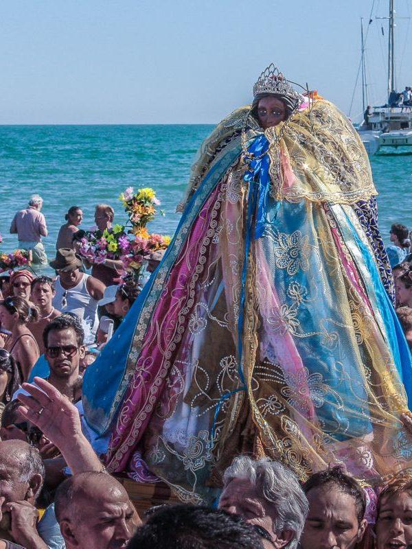 Santa Sara - La processione