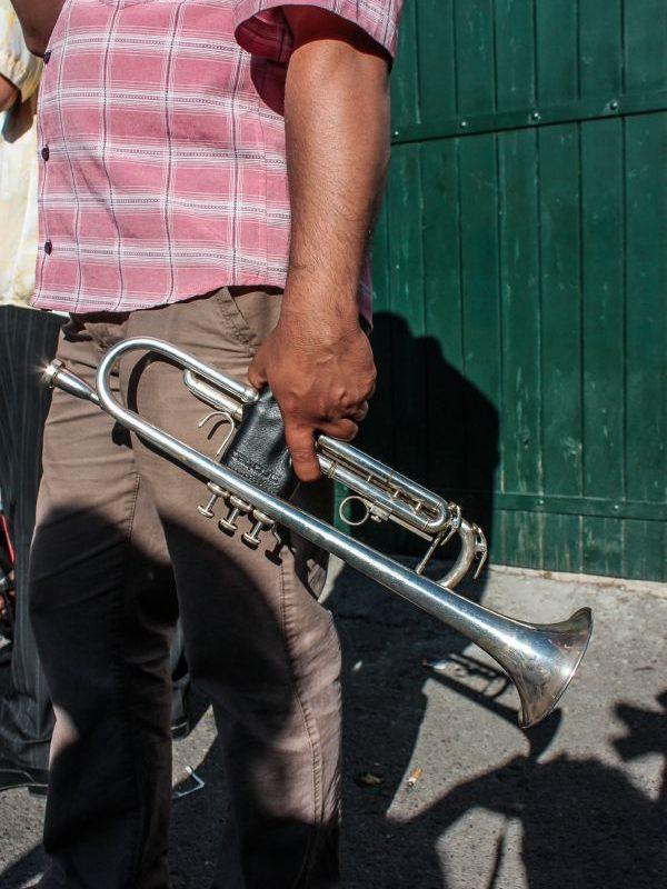 Santa Sara - The trumpet
