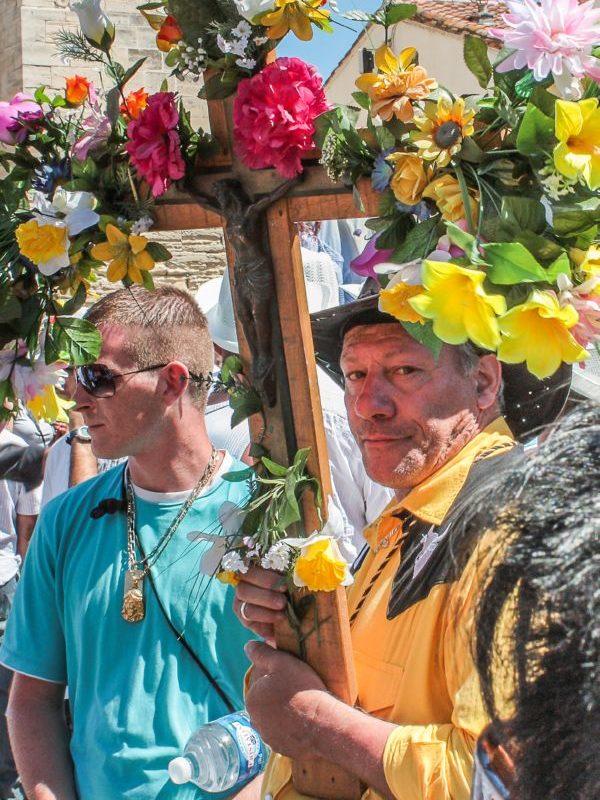 Santa Sara - Preparativi della processione