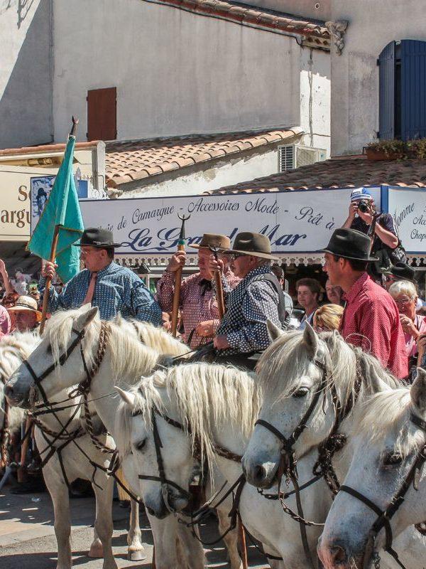 Santa Sara - I cavalieri
